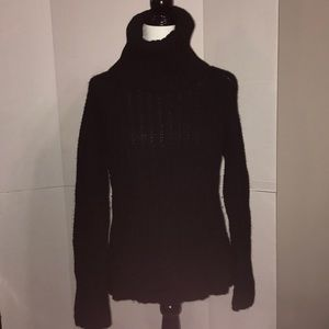 CLUB MONACO Ladies black turtleneck Size XL